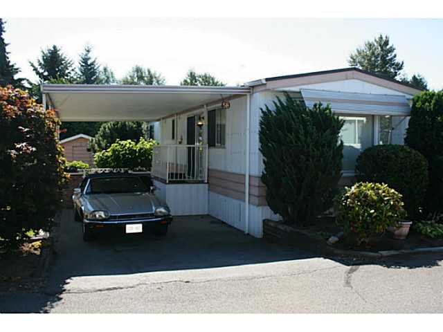 Main Photo: # 58 8560 156 ST in Surrey: Fleetwood Tynehead Manufactured Home for sale : MLS®# F1449007
