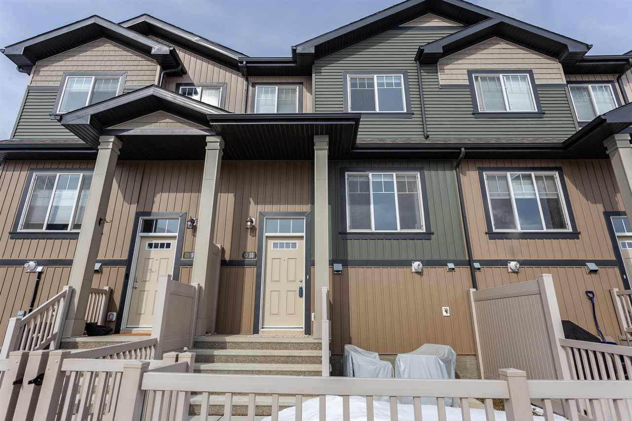 Main Photo: 10 3305 ORCHARDS Link in Edmonton: Zone 53 Townhouse for sale : MLS®# E4192055