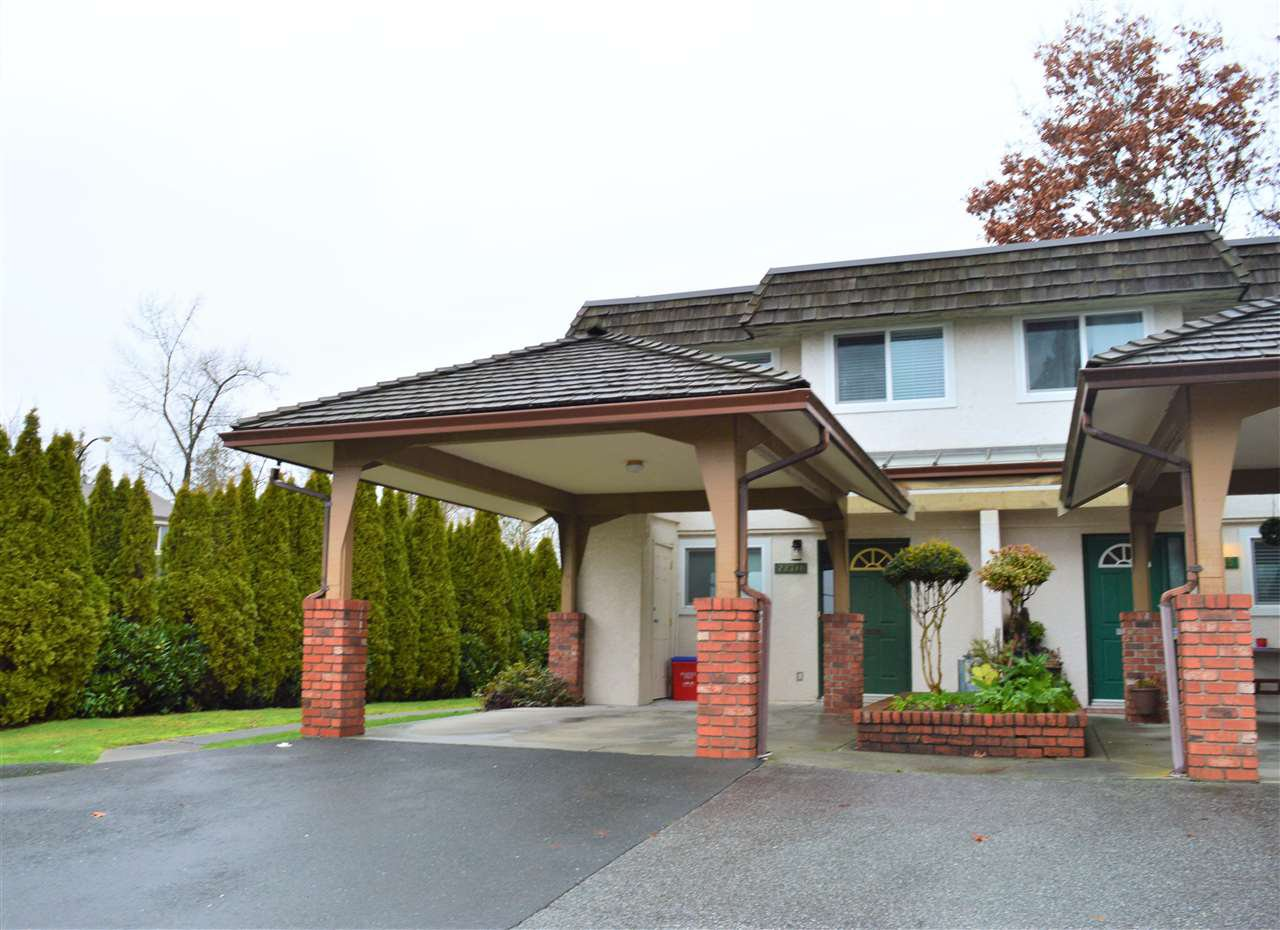 "Main Photo: 22711 GILLEY Avenue in Maple Ridge: East Central Townhouse for sale in ""CEDAR GROVE"" : MLS®# R2528344"