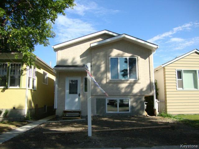 Main Photo: 363 RUTLAND Street in WINNIPEG: St James Residential for sale (West Winnipeg)  : MLS®# 1315826
