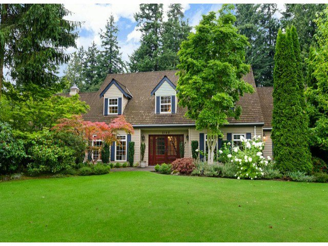 Main Photo: 2163 179TH ST in Surrey: Hazelmere House for sale (South Surrey White Rock)  : MLS®# F1429345