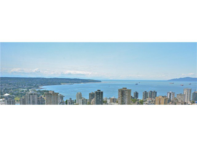 Main Photo: 3803 1028 Barclay Street in Vancouver: Condo for sale : MLS®# V1017796