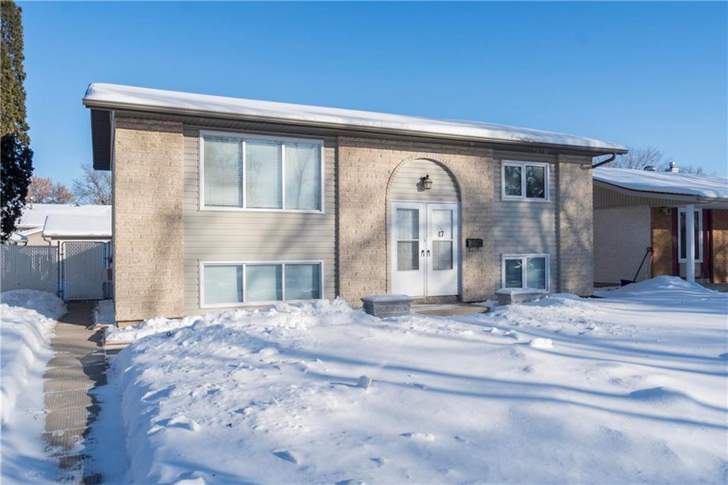 Main Photo: 47 Tunbridge Bay in Winnipeg: East Transcona Residential for sale (3M)  : MLS®# 202002636
