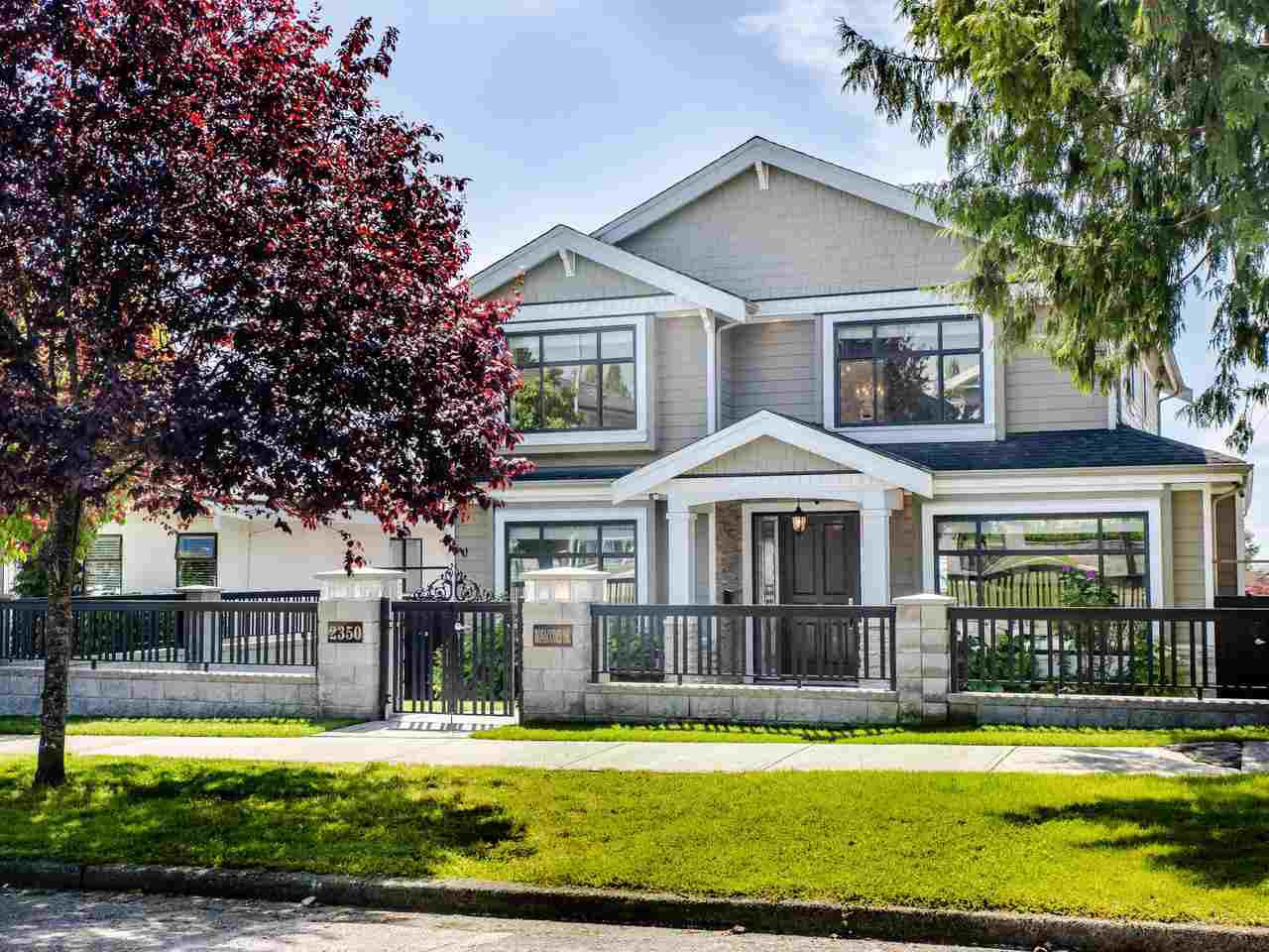 Main Photo: 2350 BONACCORD Drive in Vancouver: Fraserview VE House for sale (Vancouver East)  : MLS®# R2468026