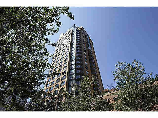 Main Photo: 1206 1189 HOWE STREET in : Downtown VW Condo for sale : MLS®# V1020583