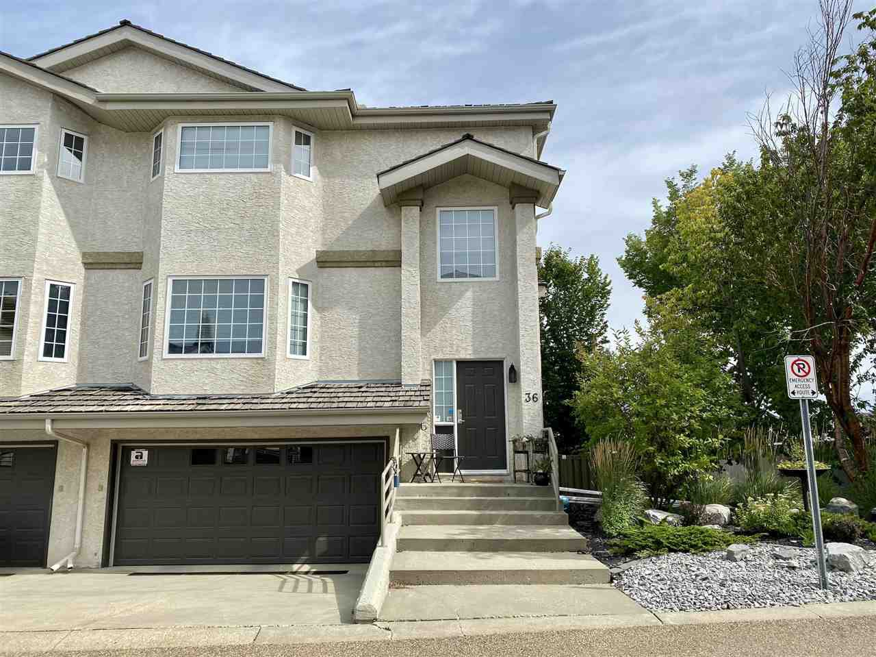 Main Photo: 36 1295 CARTER CREST Road in Edmonton: Zone 14 Townhouse for sale : MLS®# E4211914