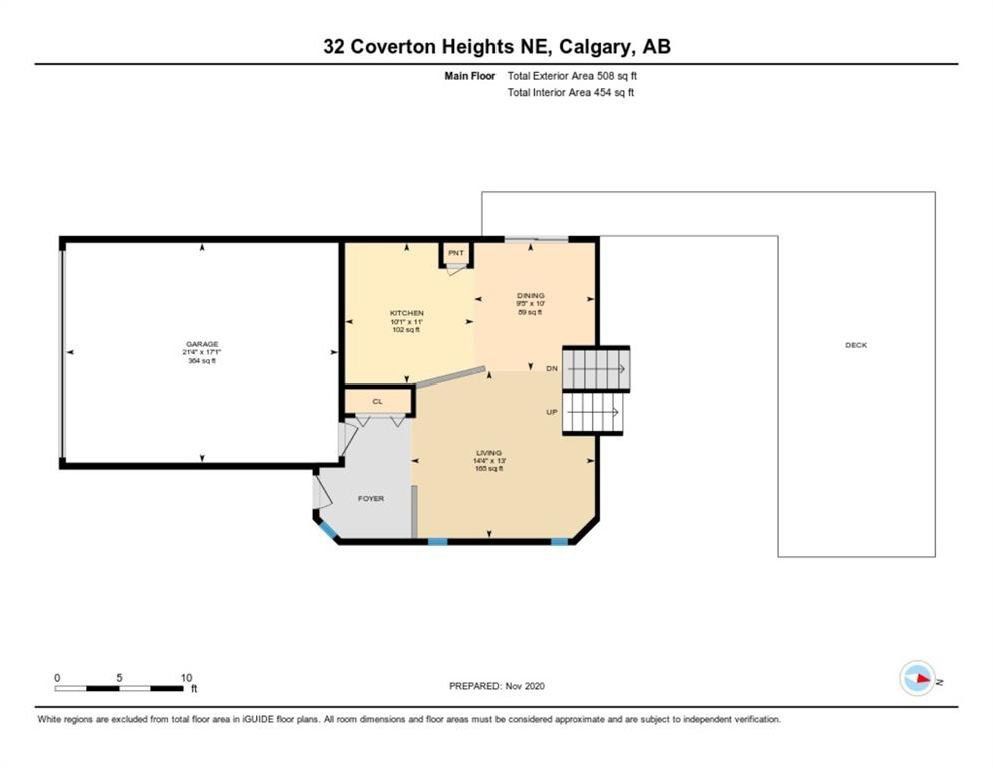 Photo 30: Photos: 32 Coverton Heights NE in Calgary: Coventry Hills Detached for sale : MLS®# A1046669
