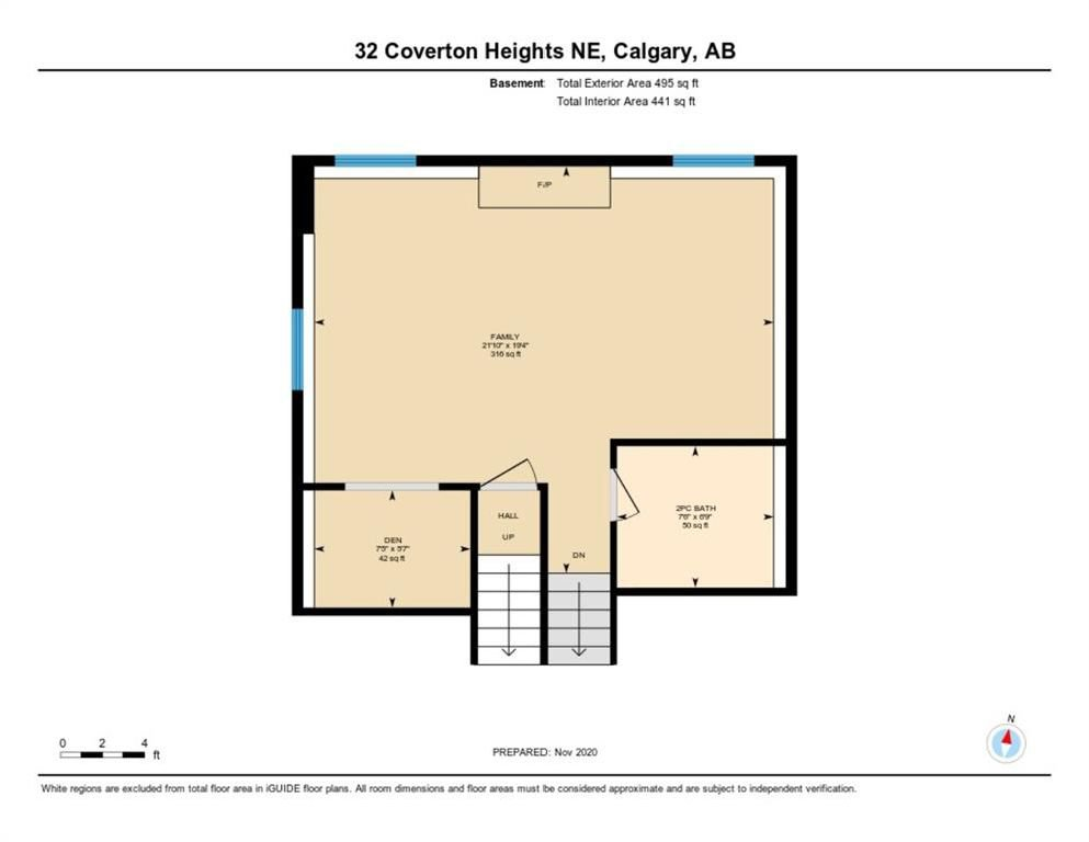 Photo 33: Photos: 32 Coverton Heights NE in Calgary: Coventry Hills Detached for sale : MLS®# A1046669