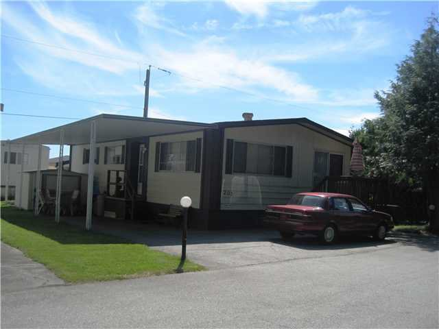 """Main Photo: 205 201 CAYER Street in Coquitlam: Coquitlam East Manufactured Home for sale in """"WILDWOOD PARK"""" : MLS®# V965243"""