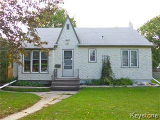 Main Photo: 270 Amherst Street in Winnipeg: St James Single Family Detached for sale (West Winnipeg)  : MLS®# 1405738