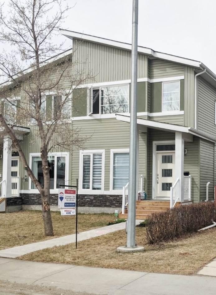 Main Photo: 10510 153 Street in Edmonton: Zone 21 House Half Duplex for sale : MLS®# E4193945