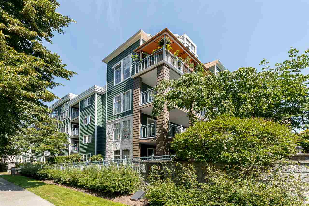 "Main Photo: 303 1199 WESTWOOD Street in Coquitlam: North Coquitlam Condo for sale in ""LAKESIDE TERRACE"" : MLS®# R2480936"