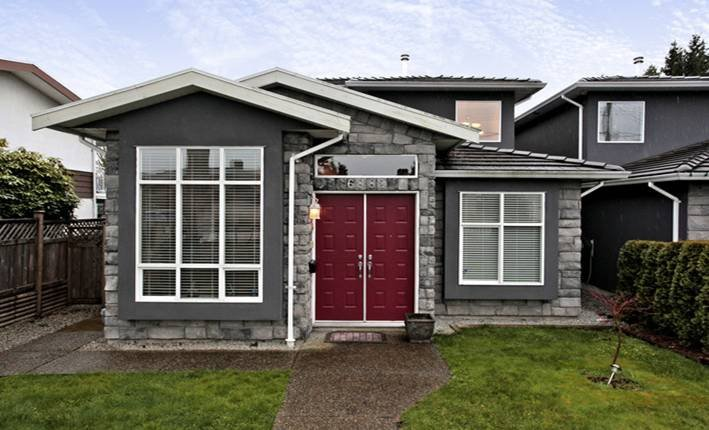 Main Photo: 6882 NAPIER Street in Burnaby: Sperling-Duthie House 1/2 Duplex for sale (Burnaby North)  : MLS®# V942052