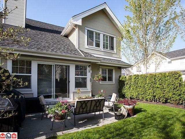 """Main Photo: 62 17097 64TH Avenue in Surrey: Cloverdale BC Townhouse for sale in """"KENTUCKY"""" (Cloverdale)  : MLS®# F1212337"""