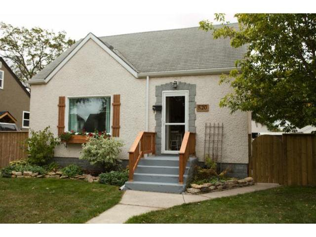 Main Photo: 520 St. Catherine Street in WINNIPEG: St Boniface Residential for sale (South East Winnipeg)  : MLS®# 1219381