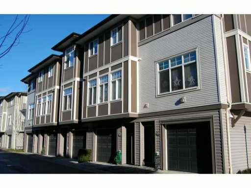 Main Photo: 66 1010 Ewen Avenue in New Westminster: Queensborough Townhouse for sale : MLS®# V860669