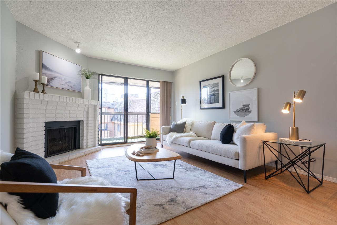 "Main Photo: 311 2277 E 30TH Avenue in Vancouver: Victoria VE Condo for sale in ""Twin Court"" (Vancouver East)  : MLS®# R2484205"