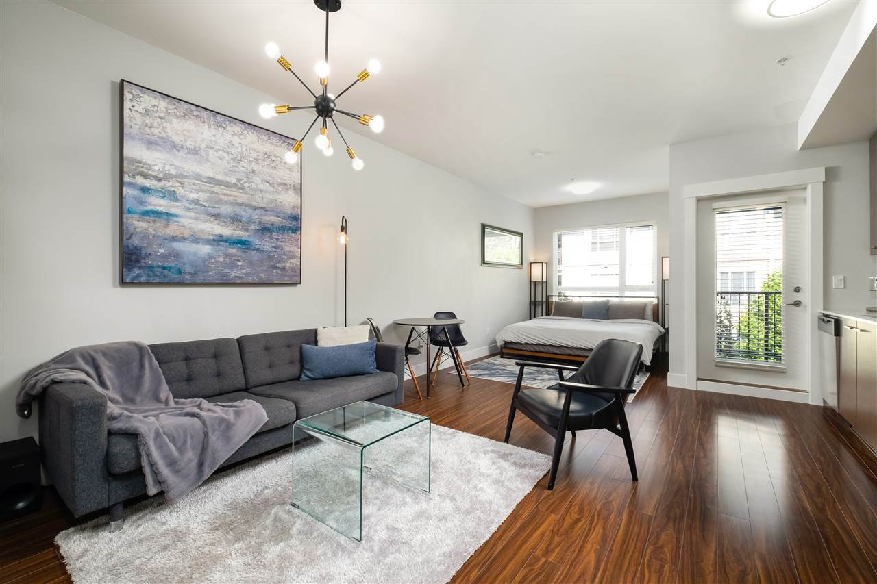 """Main Photo: 308 2473 ATKINS Avenue in Port Coquitlam: Central Pt Coquitlam Condo for sale in """"VALORE ON THE PARK"""" : MLS®# R2501965"""