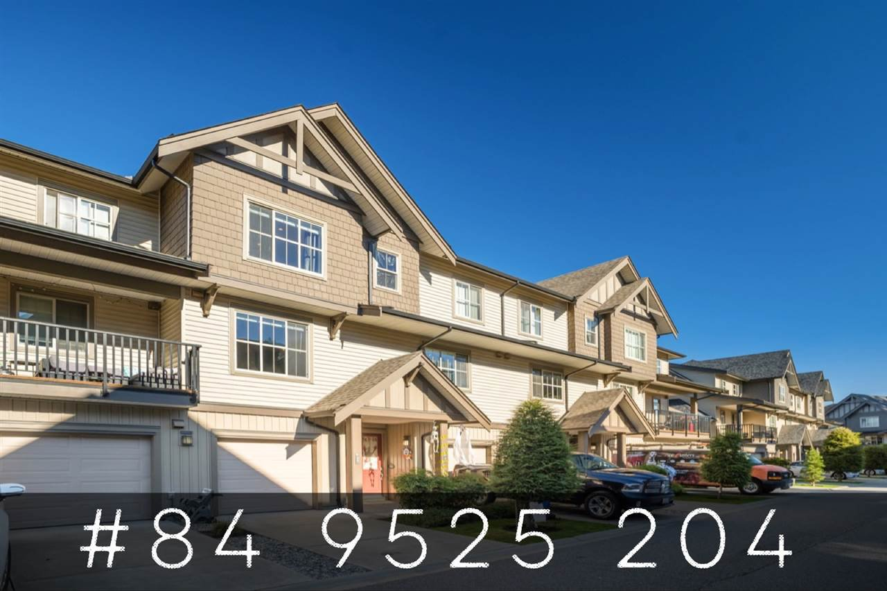 "Main Photo: 84 9525 204 Street in Langley: Walnut Grove Townhouse for sale in ""TIME"" : MLS®# R2516386"