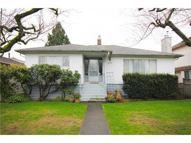 Main Photo: 356 W 62ND Avenue in Vancouver: Marpole House for sale (Vancouver West)  : MLS®# V996181