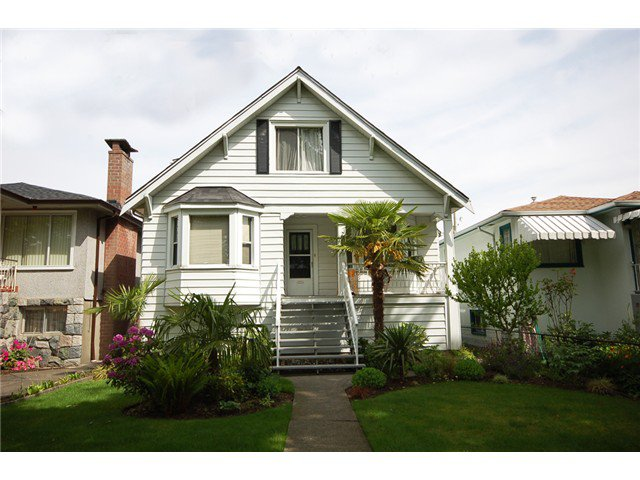 Main Photo: 2747 GRANT Street in Vancouver: Renfrew VE House for sale (Vancouver East)  : MLS®# V1008575
