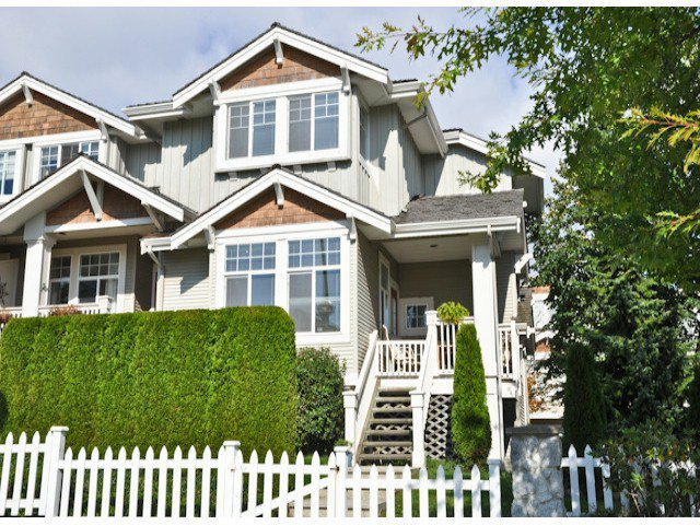 "Main Photo: 14 14877 58TH Avenue in Surrey: Sullivan Station Townhouse for sale in ""REDMILL"" : MLS®# F1312964"