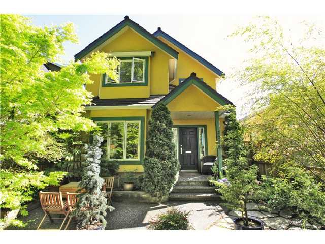 Main Photo: 2048 East 3rd Ave in Vancouver: Grandview VE House 1/2 Duplex for sale (Vancouver East)  : MLS®# v1030989