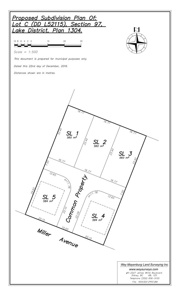 Main Photo: 738 Miller Ave...Development Site, Saanich, BC, V8Z 3C8: Land for sale