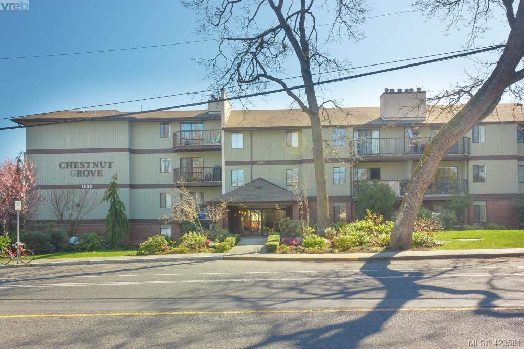Main Photo: 106 1655 Begbie Street in VICTORIA: Vi Fernwood Condo Apartment for sale (Victoria)  : MLS®# 423581