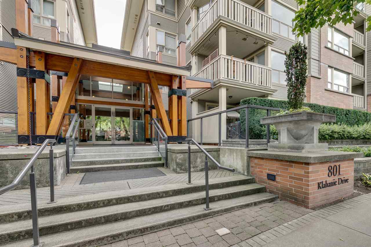 "Main Photo: 217 801 KLAHANIE Drive in Port Moody: Port Moody Centre Condo for sale in ""Inglenook"" : MLS®# R2494283"