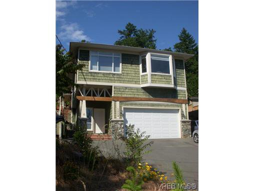 Main Photo: A 1224 Goldstream Ave in VICTORIA: La Langford Lake Half Duplex for sale (Langford)  : MLS®# 603976