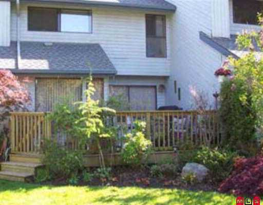 """Main Photo: 15851 ALDER PL in White Rock: King George Corridor Townhouse for sale in """"Alder Place"""" (South Surrey White Rock)  : MLS®# F2610487"""