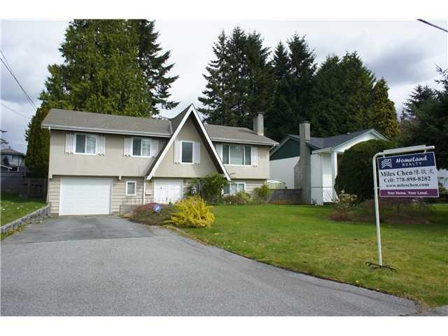 Main Photo: 1545 CORNELL AV in Coquitlam: Central Coquitlam House for sale : MLS®# V1058470