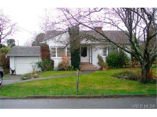 Main Photo: 1246 Palmer Rd in VICTORIA: SE Maplewood Single Family Detached for sale (Saanich East)  : MLS®# 300687