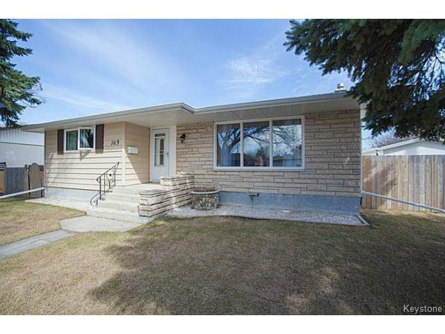 Photo 1: Photos: 163 McMeans Avenue East in Winnipeg: Transcona Single Family Detached for sale : MLS®# 1510345