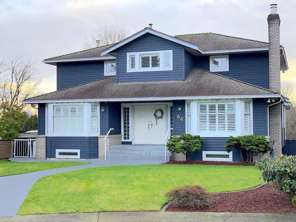 Main Photo: 64 SEYMOUR COURT in New Westminster: Fraserview NW House for sale : MLS®# R2336210