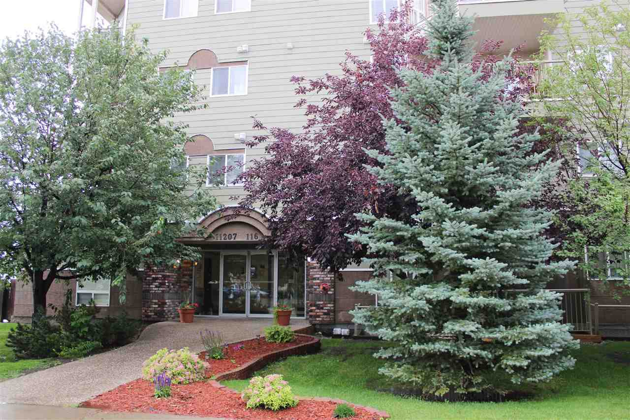 Main Photo: 303 11207 116 Street in Edmonton: Zone 08 Condo for sale : MLS®# E4166460