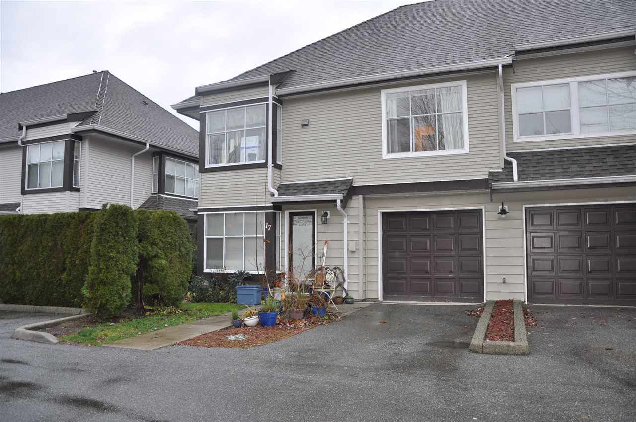 "Main Photo: 17 12099 237 Street in Maple Ridge: East Central Townhouse for sale in ""GABRIOLA"" : MLS®# R2424372"