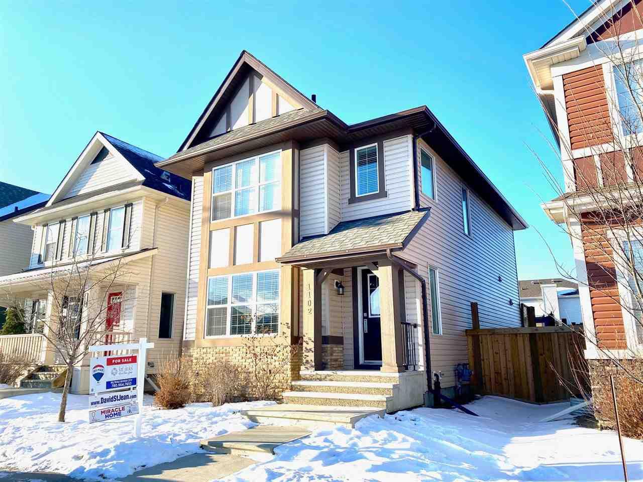 Main Photo: 1102 CHAPPELLE Boulevard SW in Edmonton: Zone 55 House for sale : MLS®# E4183237