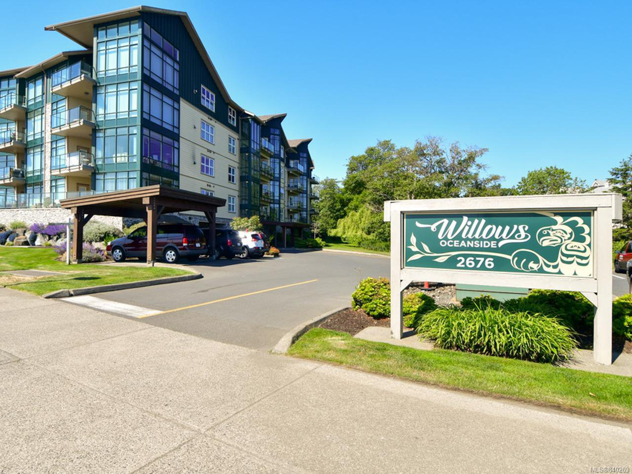 Main Photo: 404 2676 S Island Hwy in CAMPBELL RIVER: CR Willow Point Condo for sale (Campbell River)  : MLS®# 840269