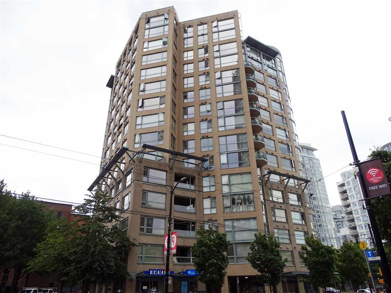 Main Photo: 1406 283 DAVIE Street in Vancouver: Yaletown Condo for sale (Vancouver West)  : MLS®# R2492666