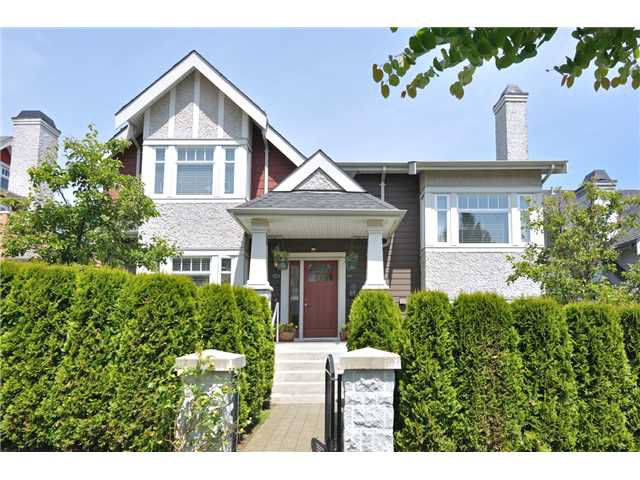 Main Photo: 4481 W 9TH Avenue in Vancouver: Point Grey Townhouse for sale (Vancouver West)  : MLS®# V957147