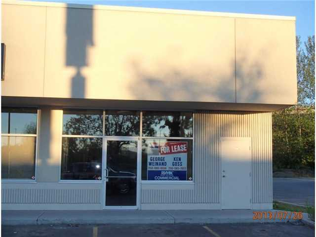 Main Photo: 103B 3320 MASSEY Drive in PRINCE GEORGE: Westwood Commercial for lease (PG City West (Zone 71))  : MLS®# N4506296