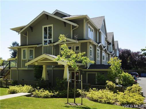 Main Photo: 1 2918 Shelbourne Street in VICTORIA: Vi Oaklands Townhouse for sale (Victoria)  : MLS®# 341018