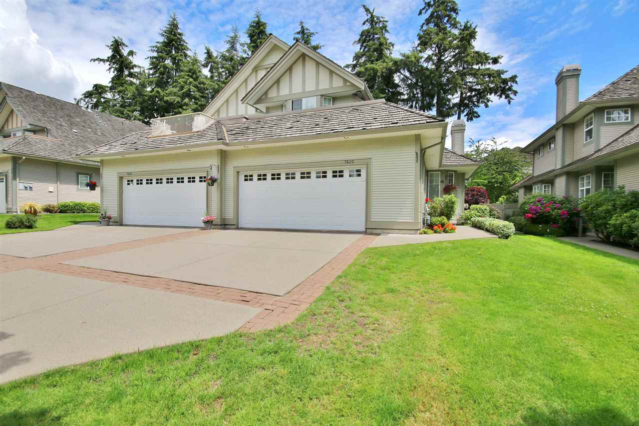 Main Photo: 5820 122 STREET in Surrey: Panorama Ridge Townhouse for sale : MLS®# R2091070