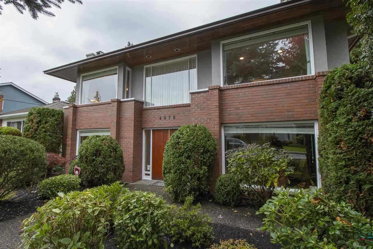 Main Photo: 4070 W 40TH Avenue in Vancouver: Dunbar House for sale (Vancouver West)  : MLS®# R2431151