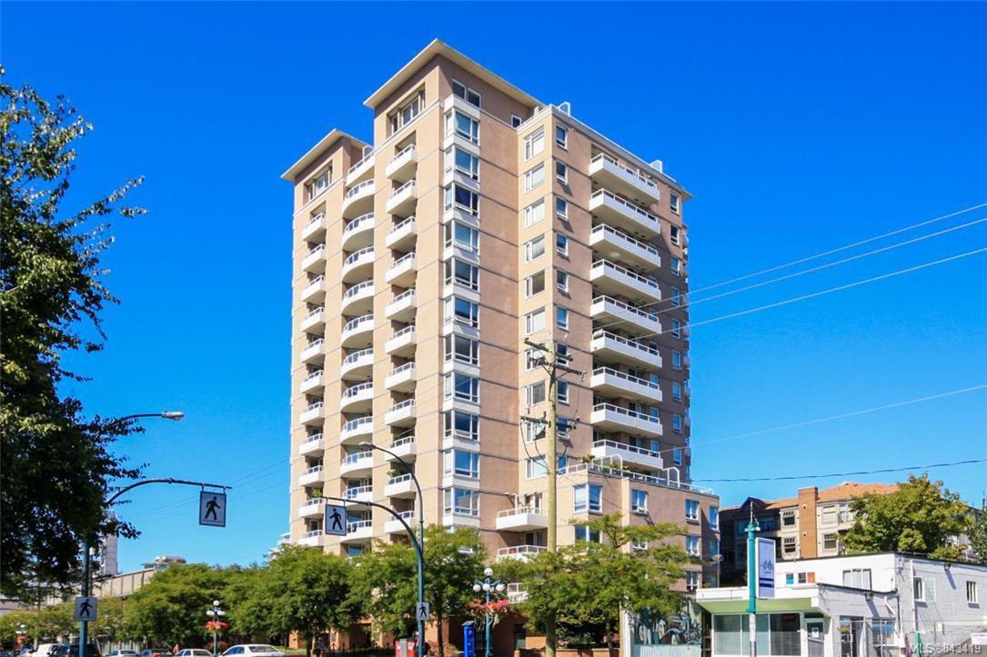 Main Photo: 1107 930 Yates St in Victoria: Vi Downtown Condo Apartment for sale : MLS®# 843419