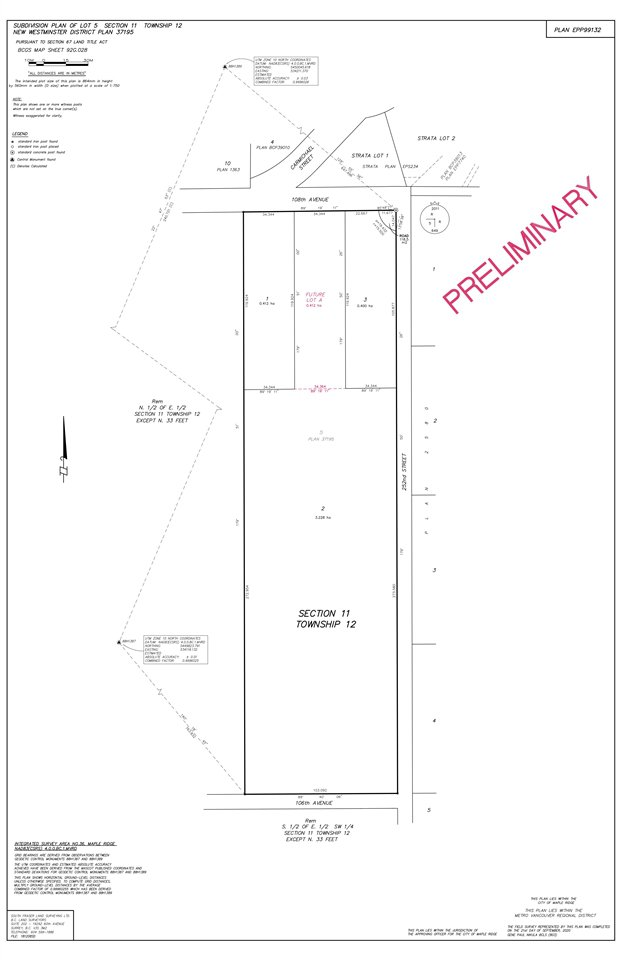 Main Photo: Lot 3 25180 W 108 Avenue in Maple Ridge: Thornhill MR Land for sale : MLS®# R2506382