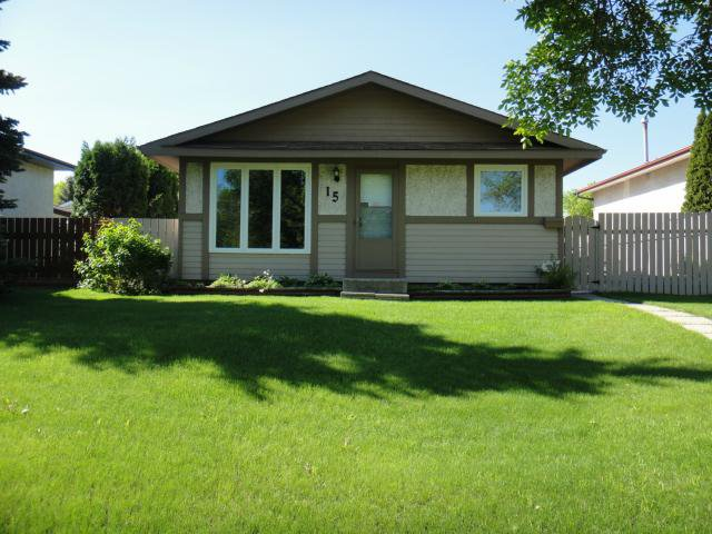 Main Photo: 15 Lynn Lake Drive in WINNIPEG: Transcona Residential for sale (North East Winnipeg)  : MLS®# 1212142