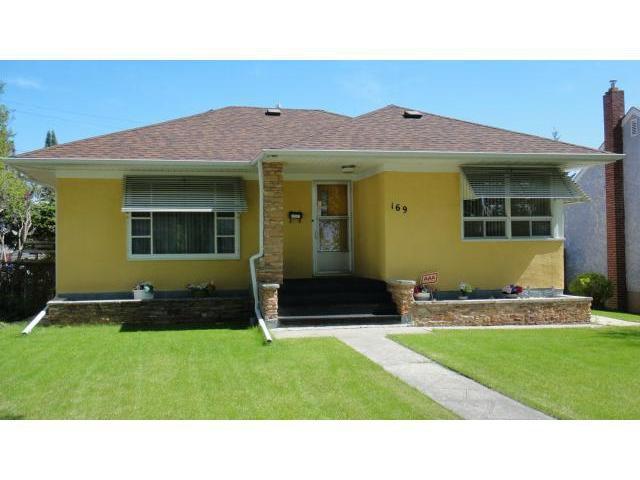 Main Photo: 169 Semple Avenue in WINNIPEG: West Kildonan / Garden City Residential for sale (North West Winnipeg)  : MLS®# 1311350